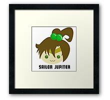 Sailor Jupiter Framed Print