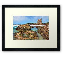 Cathedral Rocks Kiama Downs Australia seascape Framed Print