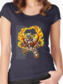 Flaming Fists Women's Fitted Scoop T-Shirt