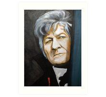 The Third Doctor  Art Print