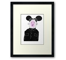 Kim Framed Print