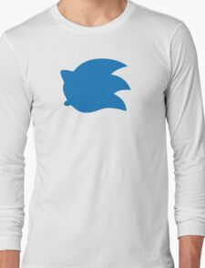 Sonic the Hedgehog Symbol - Super Smash Bros. (color) Long Sleeve T-Shirt