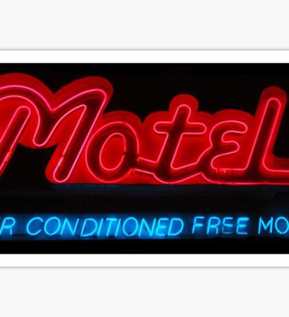 Motel Sticker