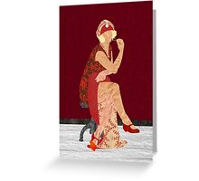 Ravishing in Red Greeting Card
