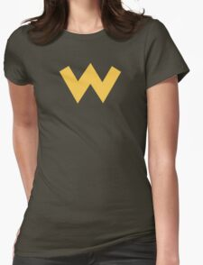 Wario Symbol - Super Smash Bros. (color) Womens Fitted T-Shirt
