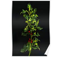 Sprig of Holly Poster