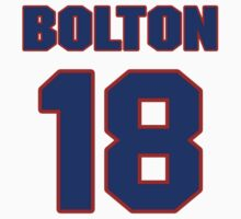 National baseball player Cliff Bolton jersey 18 by imsport