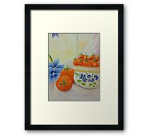 Pick And Choose  Framed Print