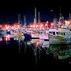 Fishing Fleet by Bill Wetmore