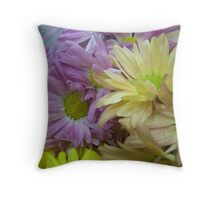 Easter Pedals Throw Pillow