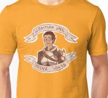 Dragon Age 2 - SEBASTIAN VAEL DEFENSE SQUAD Unisex T-Shirt