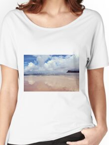 Beach Reflection Women's Relaxed Fit T-Shirt