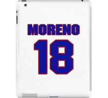 National baseball player Omar Moreno jersey 18 iPad Case/Skin