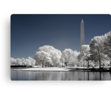 Washington Monument (Infrared) Canvas Print
