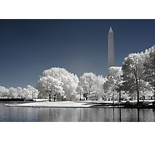 Washington Monument (Infrared) Photographic Print