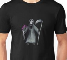 Death, it's not his fault. Unisex T-Shirt