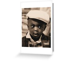 Music In My Eyes Greeting Card