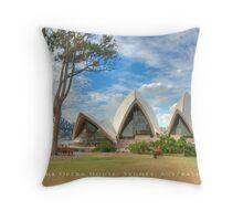 The Opera House - Sydney, Australia (Dry Brush Finish) Throw Pillow