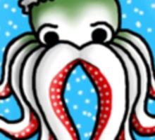 Octo-Claus Sticker