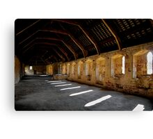 Last One Out - Turn Off The Light... Canvas Print