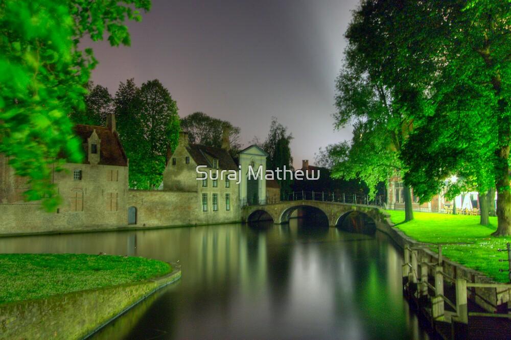 Beginhof Bridge in Brugges, Belgium by Suraj Mathew