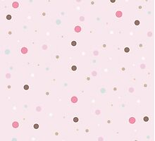 Pink Spotted Pattern by solnoirstudios