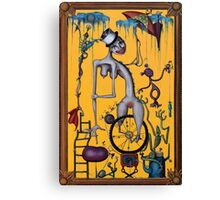 Miss Millie's Greatest Show On Earth Canvas Print