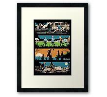 The Story of Football Framed Print