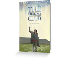 The Breakfast Club Greeting Card