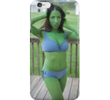 An Orion Girl Outdoors iPhone Case/Skin