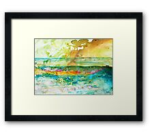Horizon Framed Print