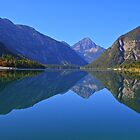 Lake Plansee, Reutte, Bavaria, Germany by Suraj Mathew