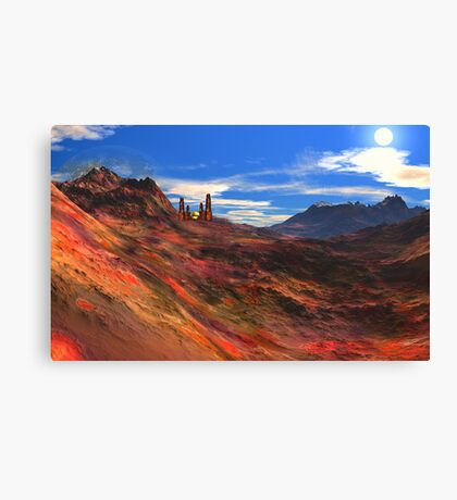 City of the Golden Sphere Canvas Print