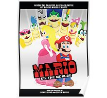 Mario Vs. The Worlds Poster
