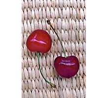 Red Cherries Photographic Print