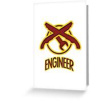 TF2 Engineer Greeting Card
