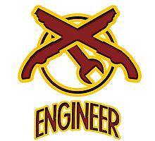TF2 Engineer Photographic Print
