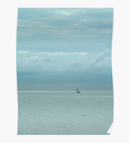 Lonely Sail Poster