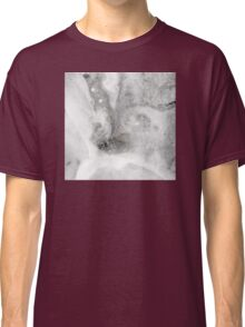 Black Ink Marble Classic T-Shirt