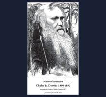 Charles Darwin Caricature 1873 Kids Tee
