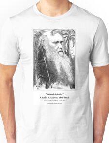 Charles Darwin Caricature 1873 Unisex T-Shirt