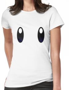 Anime Eye Womens Fitted T-Shirt