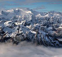 Peaks in the cloud by PeterCseke