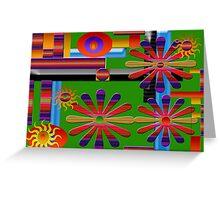 Deborah Dillehay Abstract 2 Greeting Card