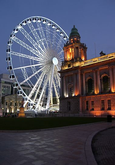 big wheel at night ... by SNAPPYDAVE