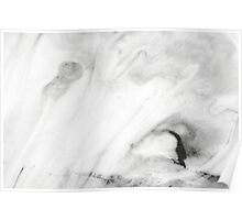 White Marble Poster