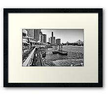 Eagle Street Pier Framed Print