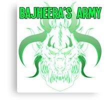 Bajheera's Army Canvas Print