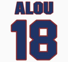 National baseball player Matty Alou jersey 18 by imsport