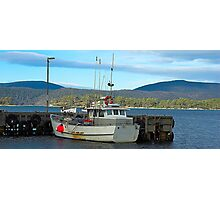 All Tied Up - Port Arthur, Tasmania, Australia Photographic Print